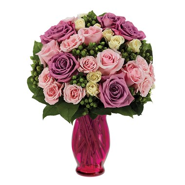 """For all she does"" flower bouquet (BF254-11KL)"